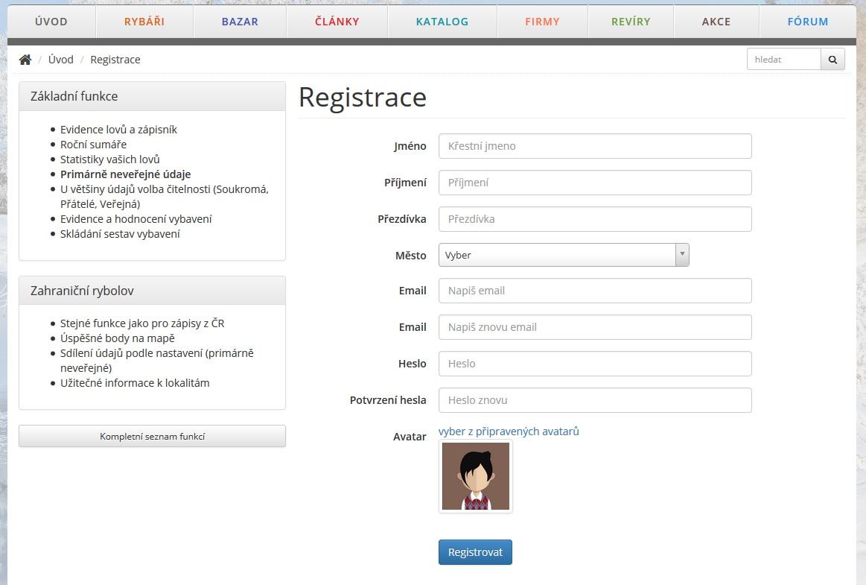 bez registrace